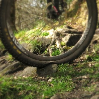 getting the most out of the tubeless tyre there... | by dRj0n