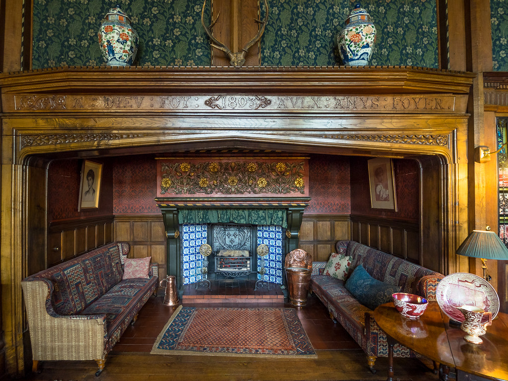 Now That 39 S A Fireplace Wightwick Manor Bob Radlinski Flickr