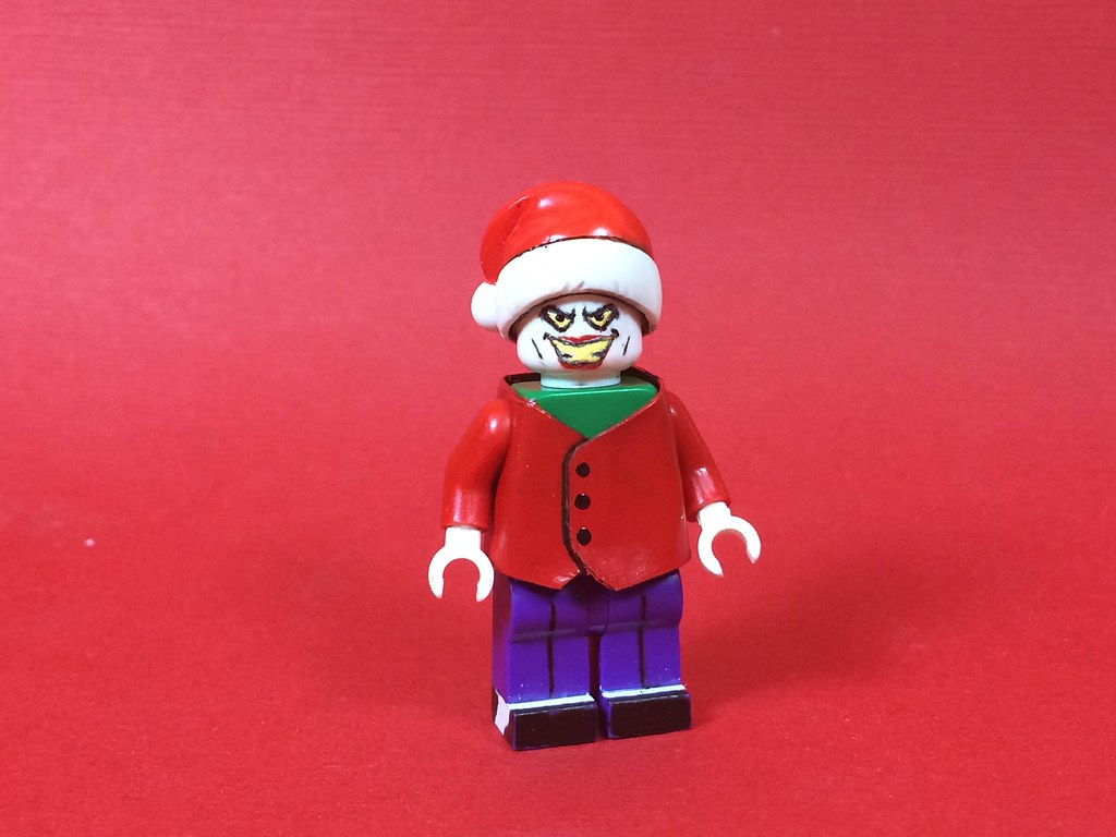Christmas With The Joker | The Joker as he appears in the se… | Flickr