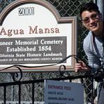 Landmark No. 121 - Agua Mansa