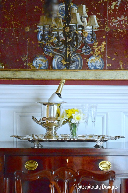 Sherri's Dining Room-Champagne Bucket-Housepitality Designs