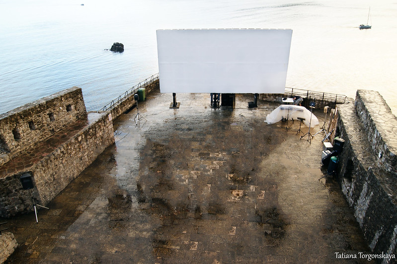 Летний кинотеатр крепости Форте Маре
