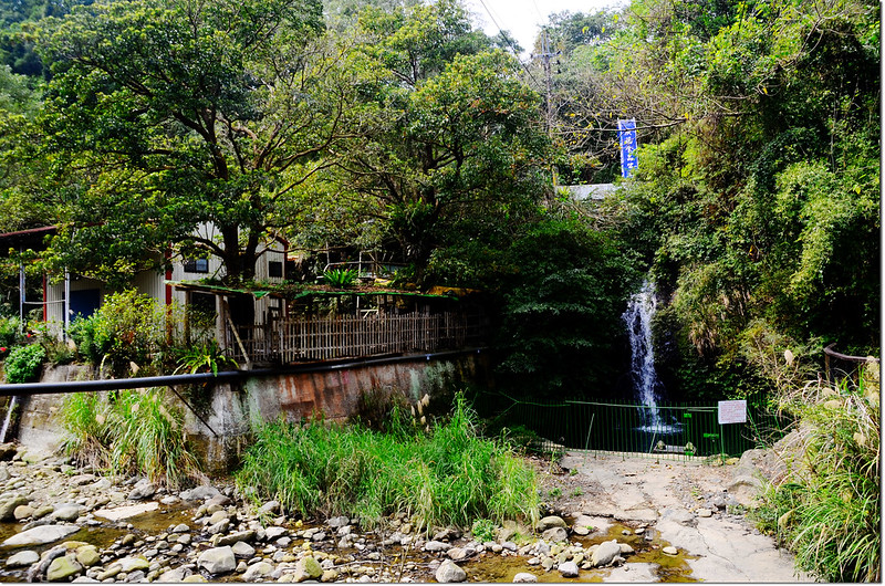大山背休閒農業區豐鄉瀑布 1