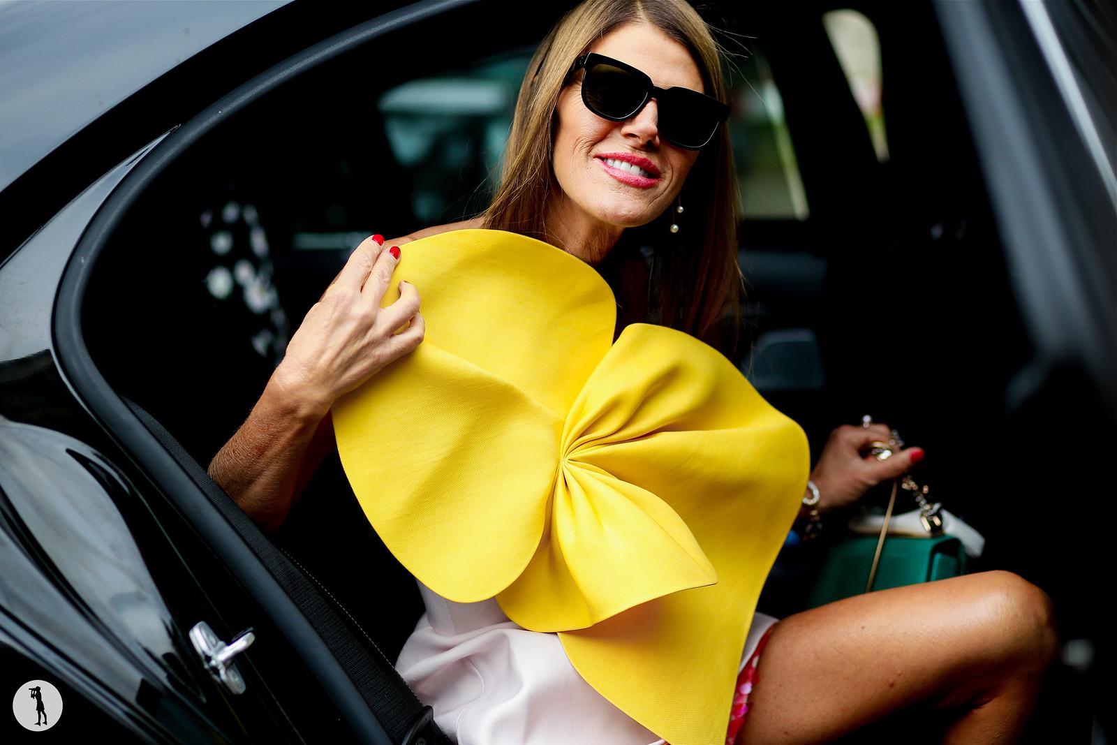 Anna Dello Russo - Paris fashion week RDT SS15 (10)