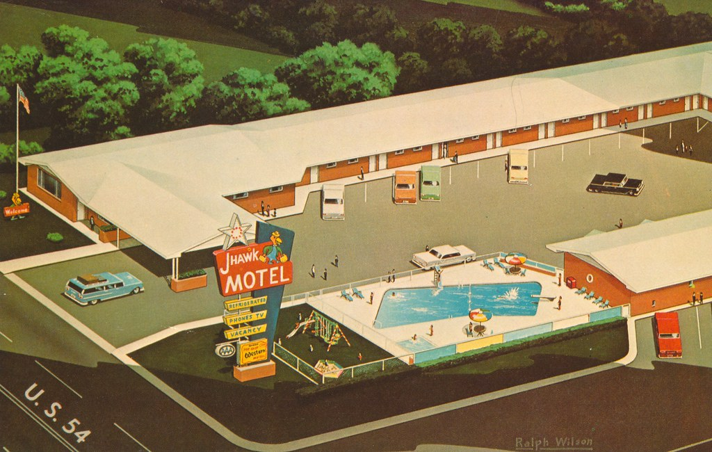 J-Hawk Motel - Greensburg, Kansas