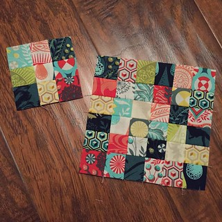 230:365 Itty bitty patchwork fun. | by {Karamat}