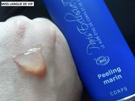 avis peeling marin paris exclusive cosmetics