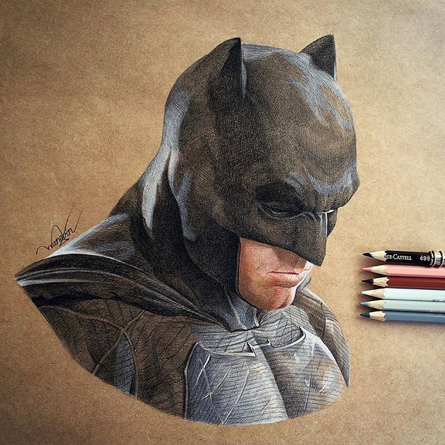 Ben Affleck's Batman by godot_23