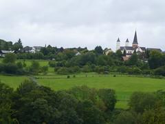 Ausblick aufs Kloster Steinfeld