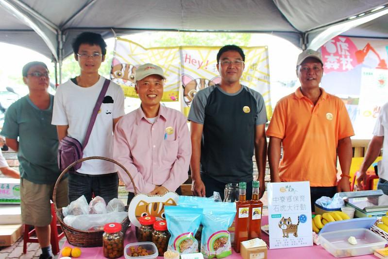 中寮鄉聚集了一群友善石虎的果農。攝影:廖靜蕙