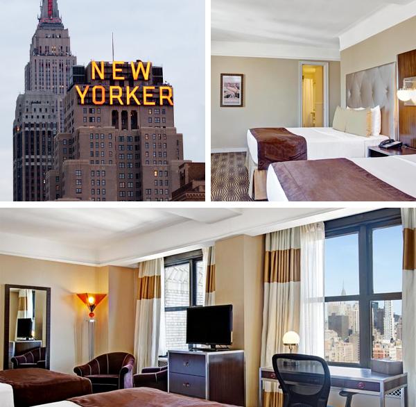 Hotel New Yorker, uno de los más famosos de Nueva York