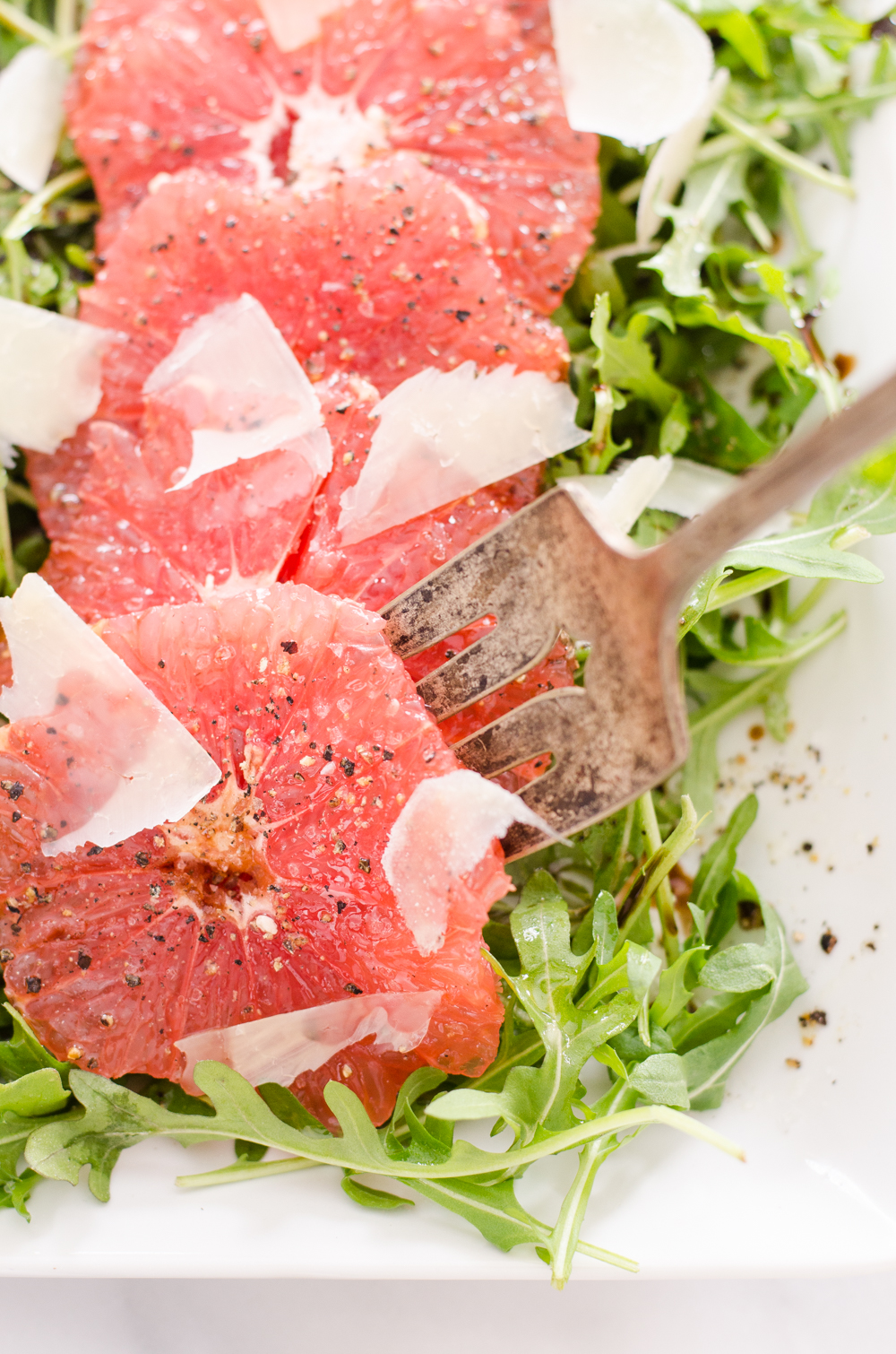 Grapefruit and Arugula Salad