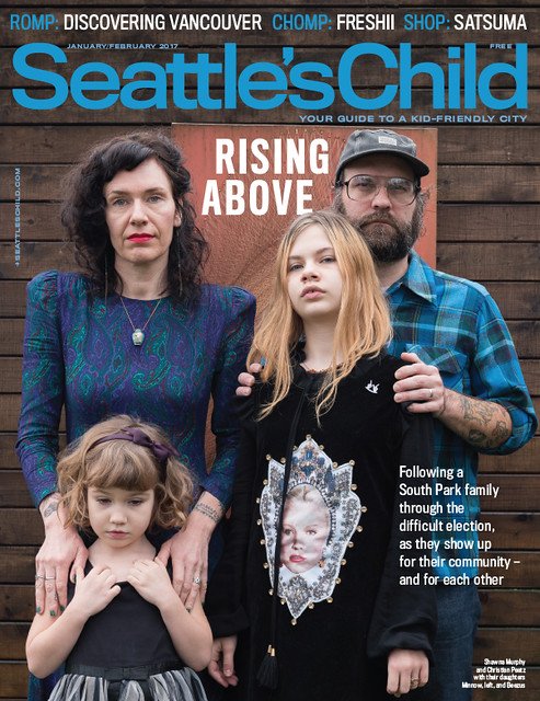 Seattle's Child Jan.Feb 2017 Cover