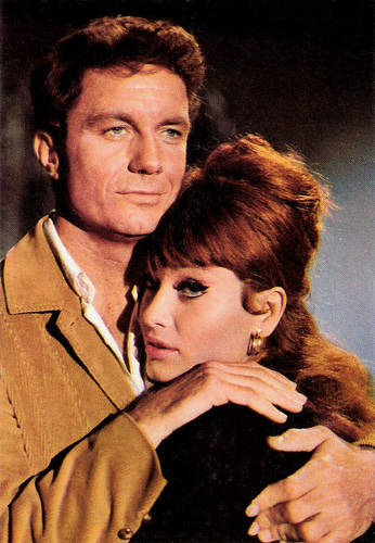 Marisa Mell and Cliff Robertson in Masquerade (1965)