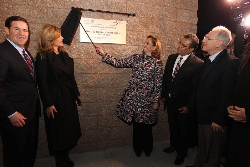 Inauguración de la nueva sede del Consulado de México en Tucson