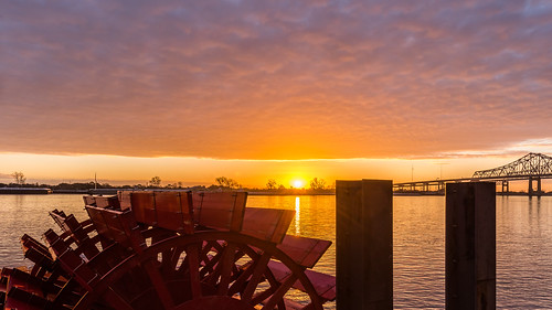 Paddle wheel sunrise | by brucenmurray