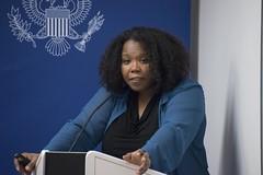 Black History Month Speaker Nishani Frazier