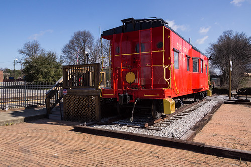 Southern X3115 caboose - 1