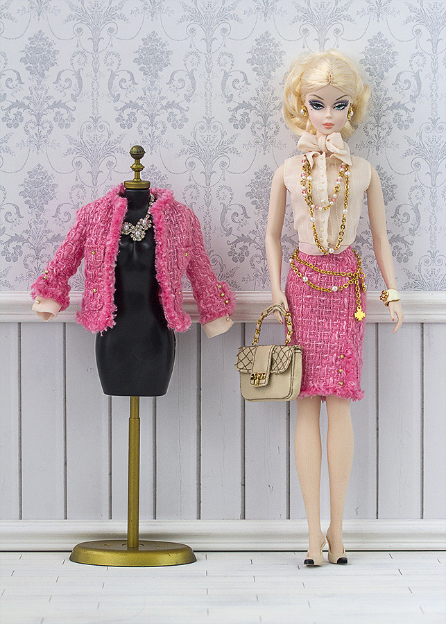 Chanel fashion Barbie