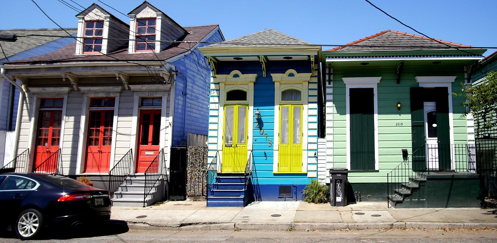 Marigny Vernacular New Orleans Shotgun House Jay