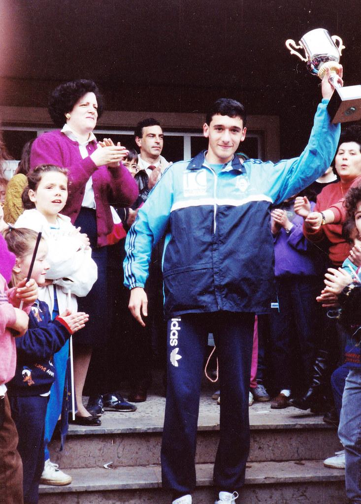 Su última participación en el cross del Colegio. Foto 031.