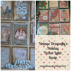Holiday Pocket Letter Swap by Vintage Dragonfly
