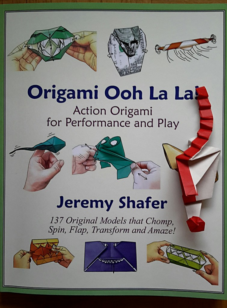Book Origami Ooh La La By Jeremy Shafer Kerstin Flickr
