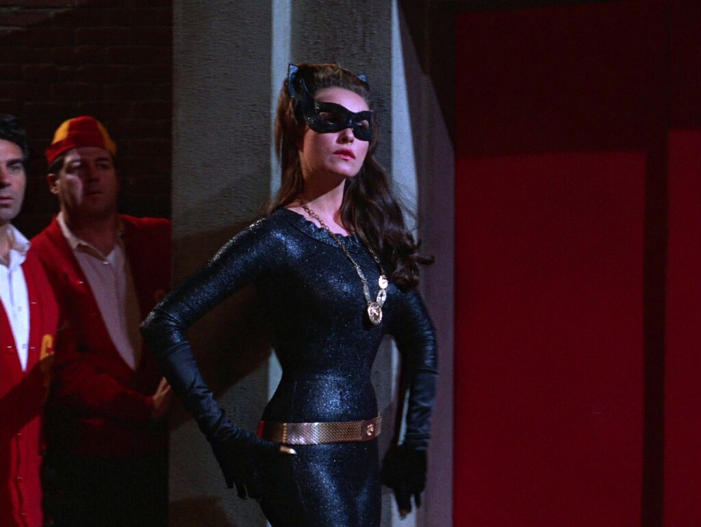 julie newmar as catwoman batman 1966 quotcatwoman goes