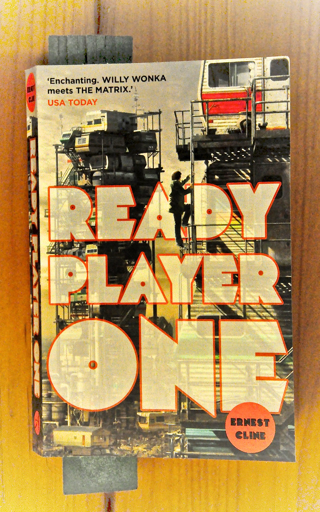 latest book  ernest cline  ready player one