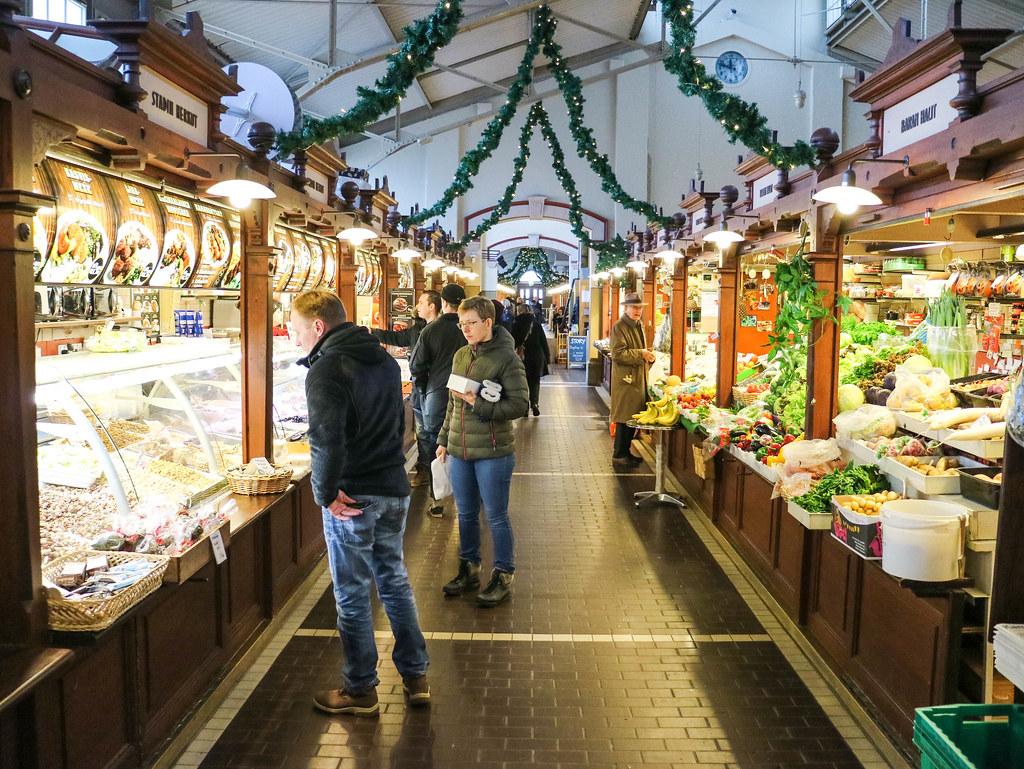 Mercado viejo Helsinki