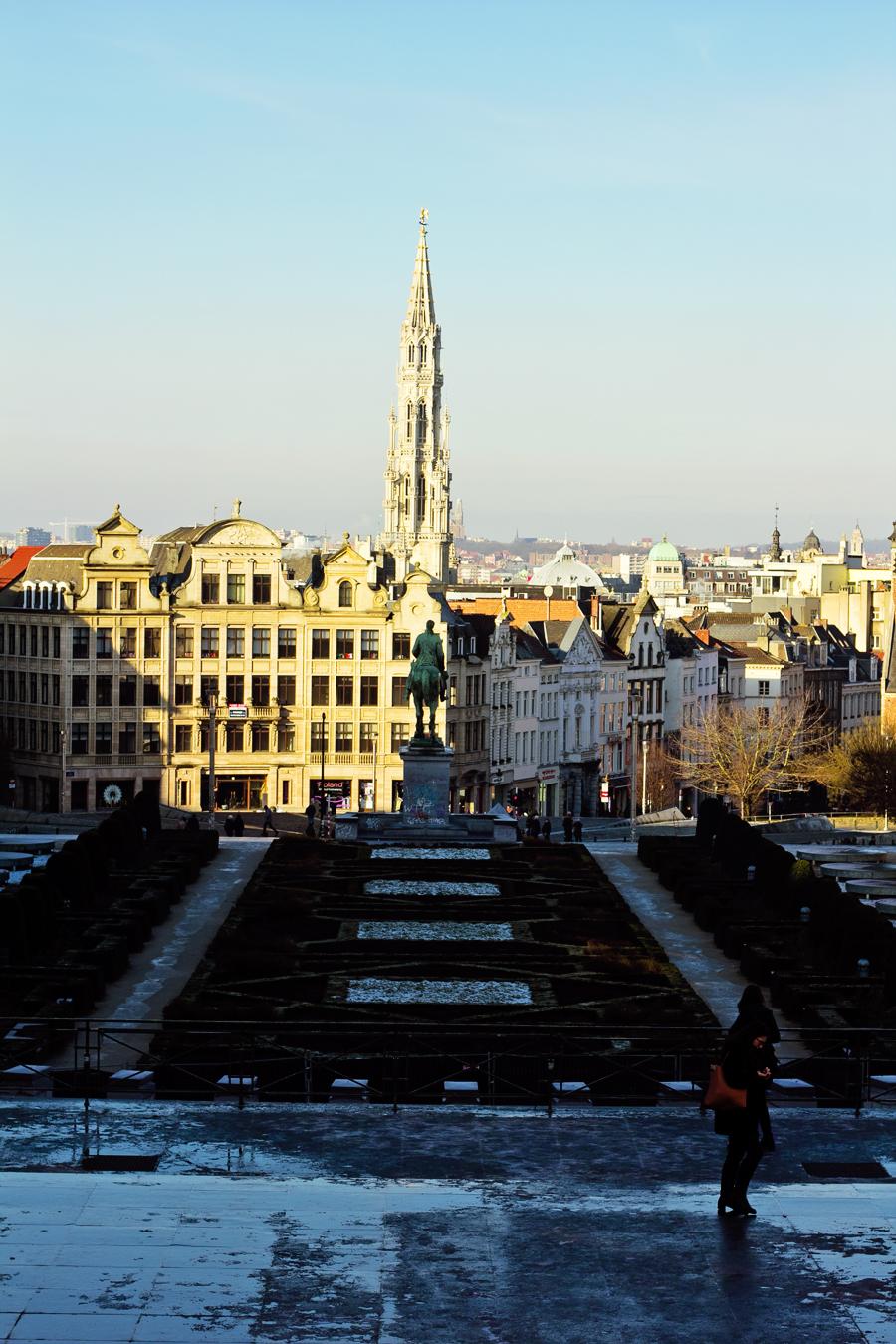 Jardin du Mont des Arts - Brussels.2