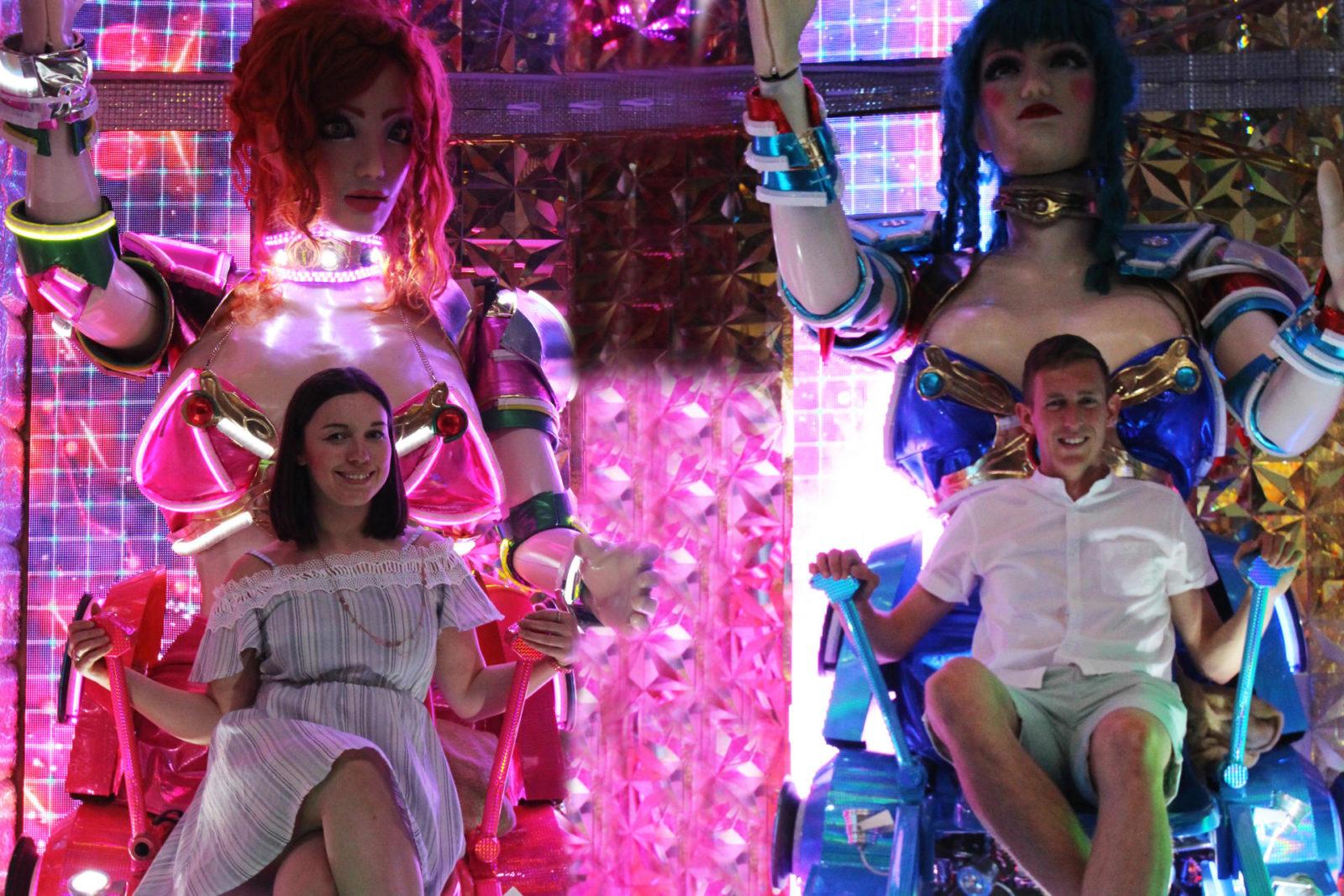 Robot Restaurant Shinjuku Tokyo review travel blogger UK