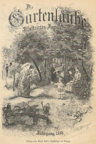 """Die Gartenlaube - Illustrirtes Familienblatt - Jahrgang 1884"""