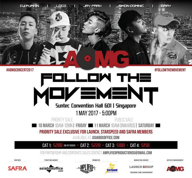 AOMG Follow The Movement in Singapore
