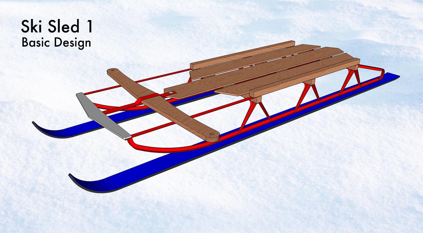 Ski Sled 1
