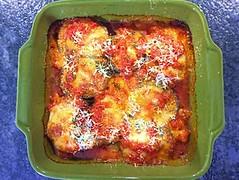 Pork parmigiana