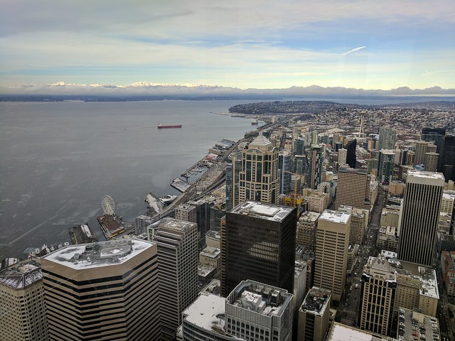 Tuesday No Snow Day (from 76th floor)