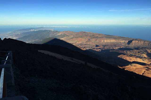 Teide's shadow, stargazing trip, Teide National Park, Tenerife