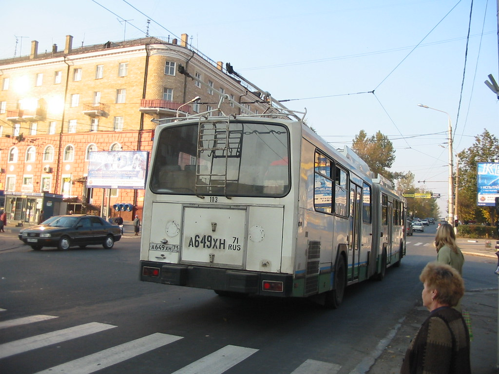 tula trolleybus 113 renault pr180hpu02a1 ex saint tienne flickr. Black Bedroom Furniture Sets. Home Design Ideas