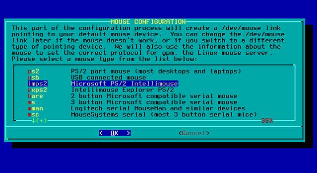 USB- и PS2-мыши в Linux