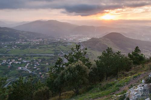 Monte Serantes, el mejor mirador de la Costa de Bizkaia