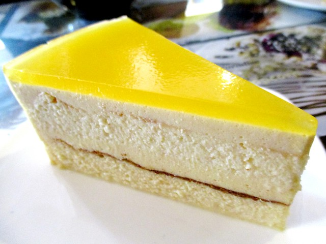 Noodle House passion cheese cake