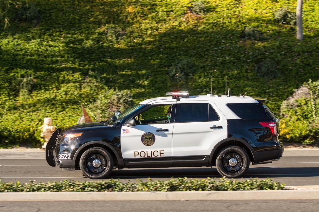 Riverside Ca Police Department Ford Explorer Police Inter