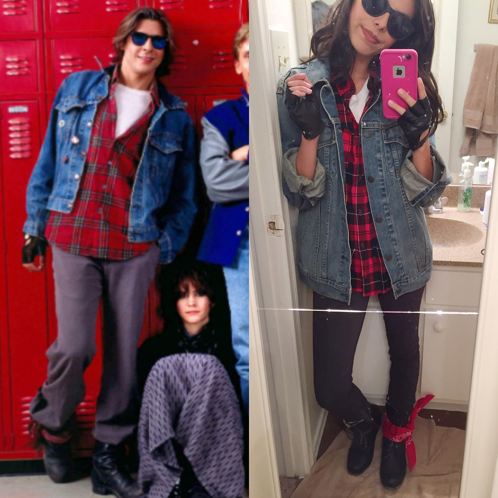 John Bender Halloween costume, Bender The Breakfast Club outfit, The Criminal the breakfast club halloween costume, the criminal breakfast club outfit