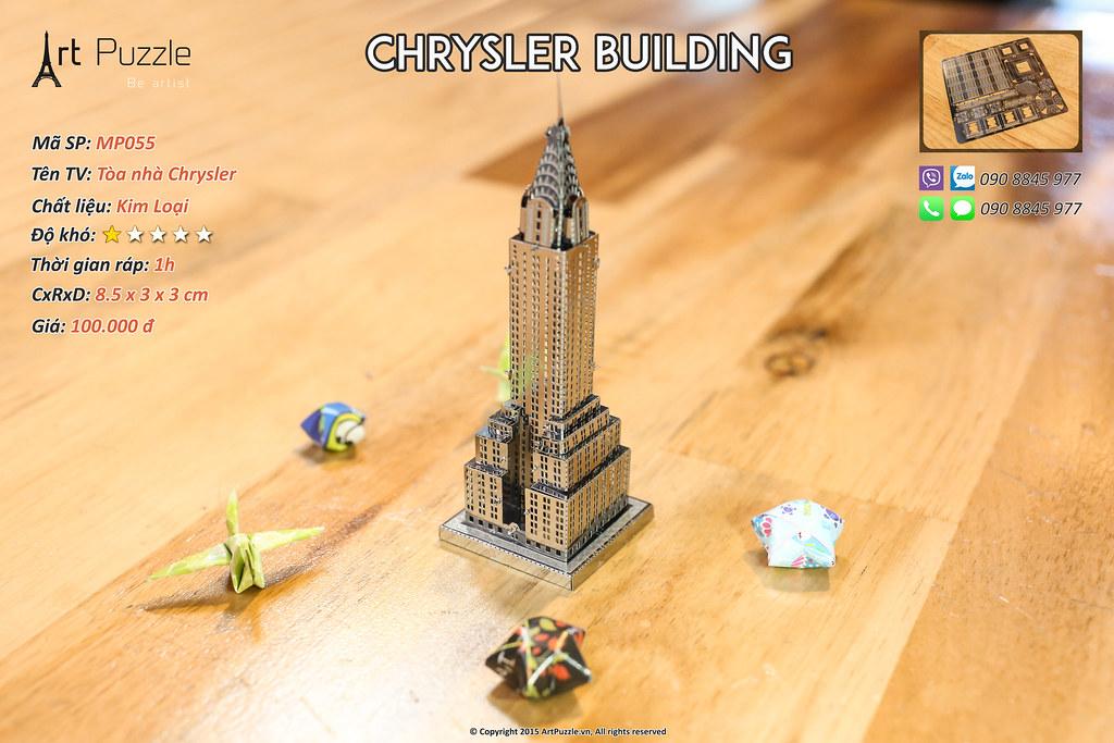 Art Puzzle - Chuyên mô hình kim loại (kiến trúc, tàu, xe tăng...) tinh tế và sắc sảo - 5
