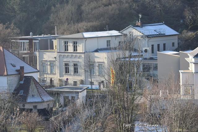 Neujahrsspaziergang in Halle Saale