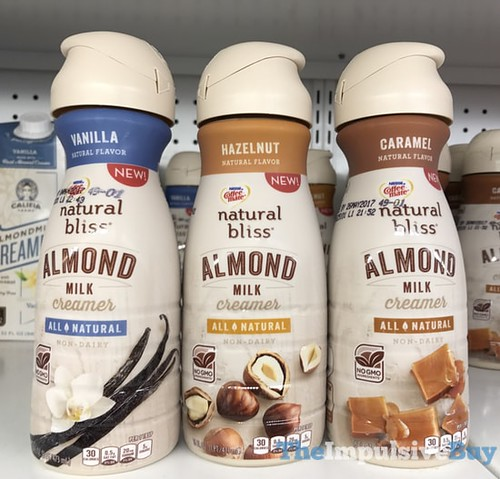 Natural Bliss Almond Milk Creamer Review
