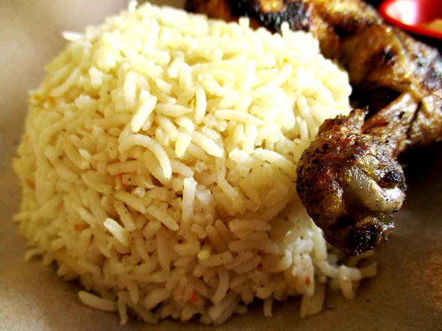 SEDC Hawker Centre peri-peri grilled chicken rice