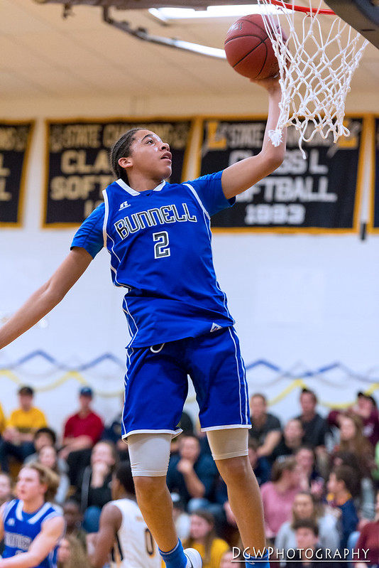 Bunnell vs. Ledyard High - High School Basketball