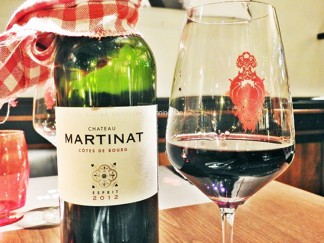 Wine Château Martinat Côtes De Bourg 2012